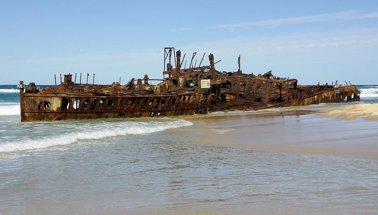 Shipwreck Island Australia